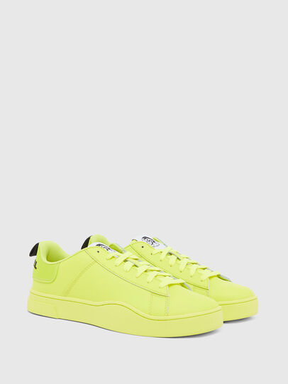 Diesel - S-CLEVER LOW LACE, Jaune - Baskets - Image 2