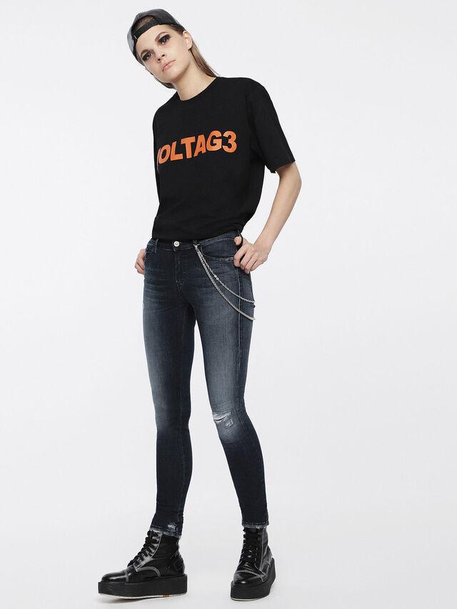 Diesel - Slandy 084ZD, Bleu Foncé - Jeans - Image 4