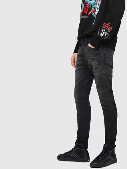 Diesel - Spender JoggJeans 069GN, Noir/Gris foncé - Jeans - Image 6
