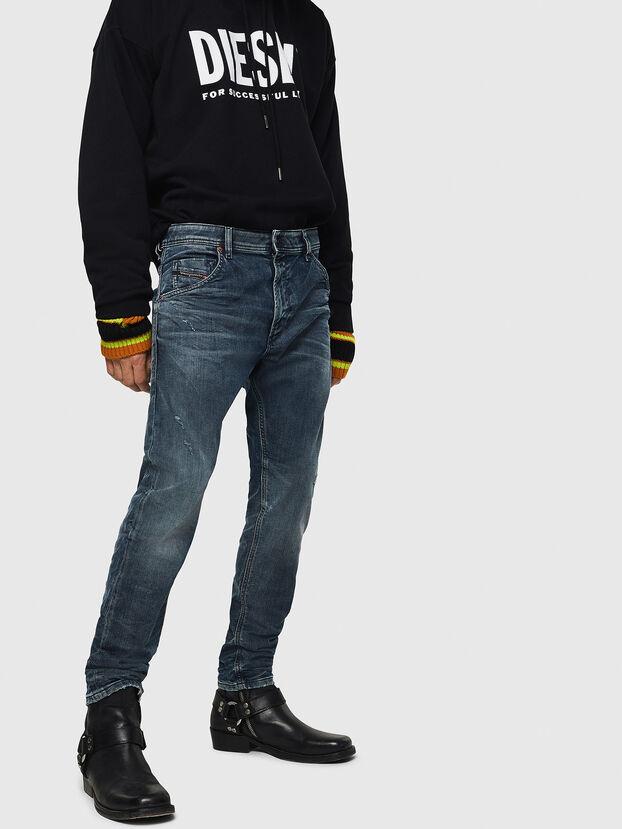 Krooley JoggJeans 0870W, Bleu moyen - Jeans