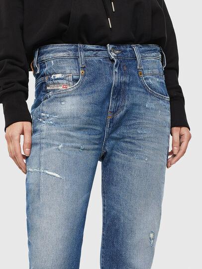 Diesel - Fayza 0097B, Bleu moyen - Jeans - Image 3