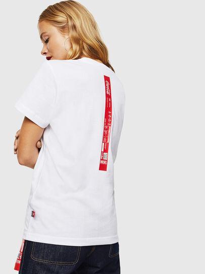 Diesel - CC-T-DIEGO-COLA, Blanc - T-Shirts - Image 4