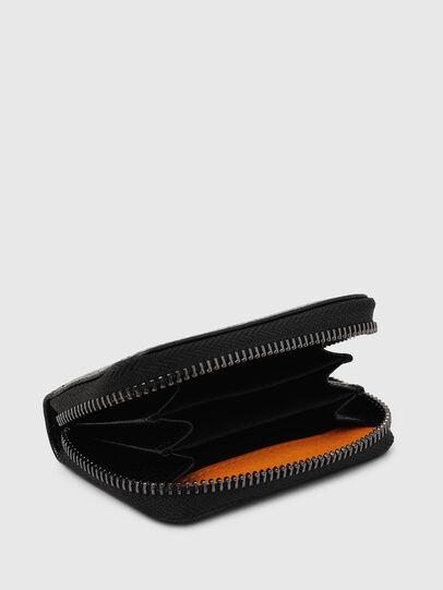 Diesel - JAPAROUND, Noir/Orange - Portefeuilles Zippés - Image 3