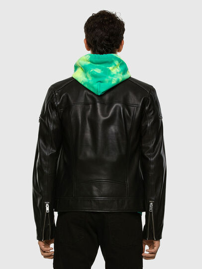 Diesel - L-CODY, Noir - Vestes de cuir - Image 7