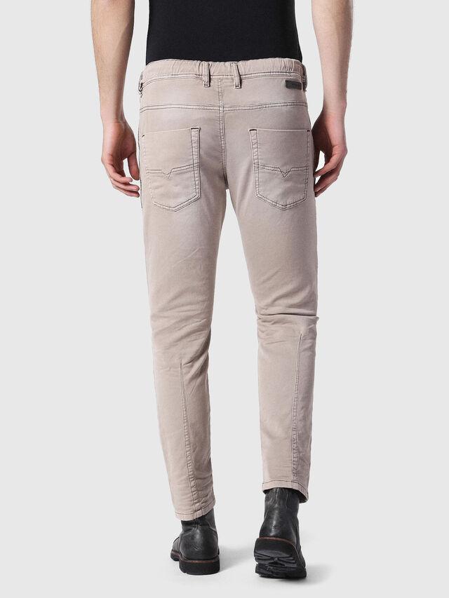 Diesel - Krooley JoggJeans 0670M, Marron Clair - Jeans - Image 2