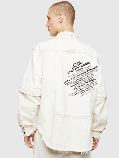 Diesel - D-KURTIS, Blanc - Chemises en Denim - Image 2