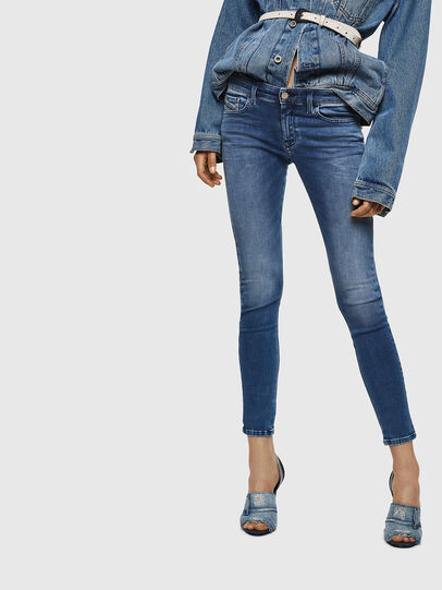 Diesel - Slandy Low 084NM, Bleu moyen - Jeans - Image 1