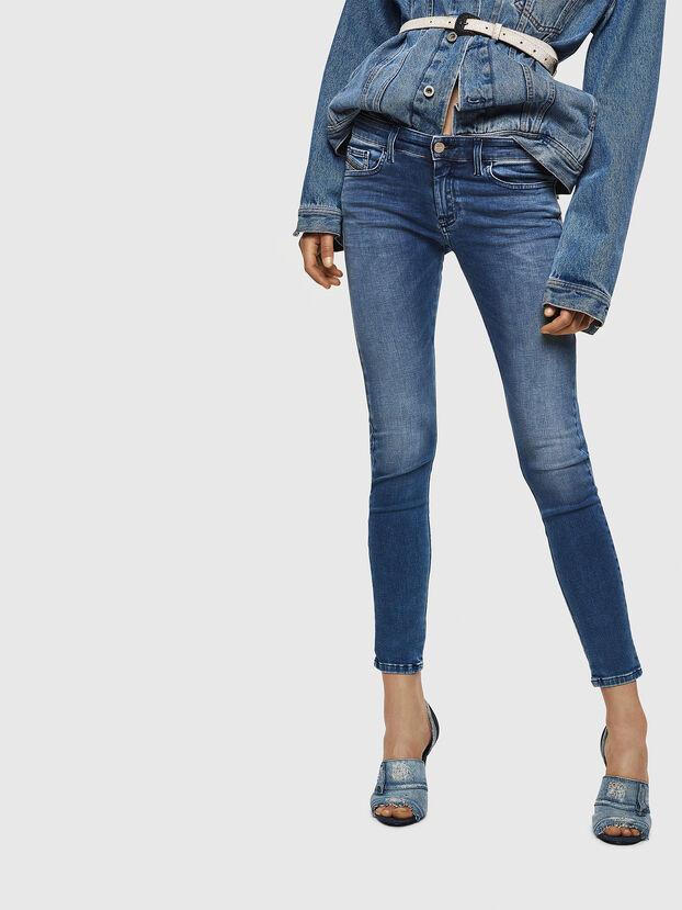 Slandy Low 084NM, Bleu moyen - Jeans