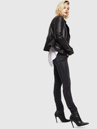 Diesel - D-Ollies JoggJeans 0093H, Noir/Gris foncé - Jeans - Image 7