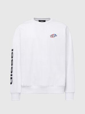 S-GIRK-K14, Blanc - Pull Cotton