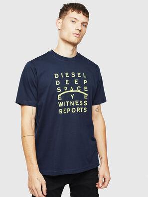 T-JUST-J5, Bleu Foncé - T-Shirts