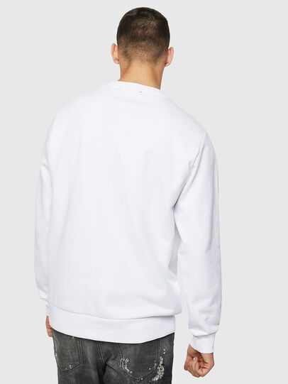 Diesel - S-GIR-B5, Blanc - Pull Cotton - Image 2