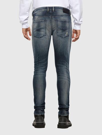 Diesel - Sleenker 069NI, Bleu Foncé - Jeans - Image 2