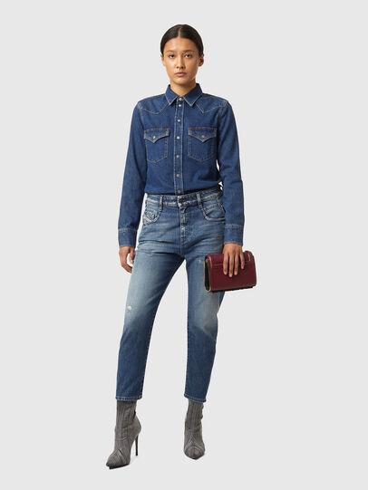 Diesel - Fayza 09A54, Bleu moyen - Jeans - Image 4