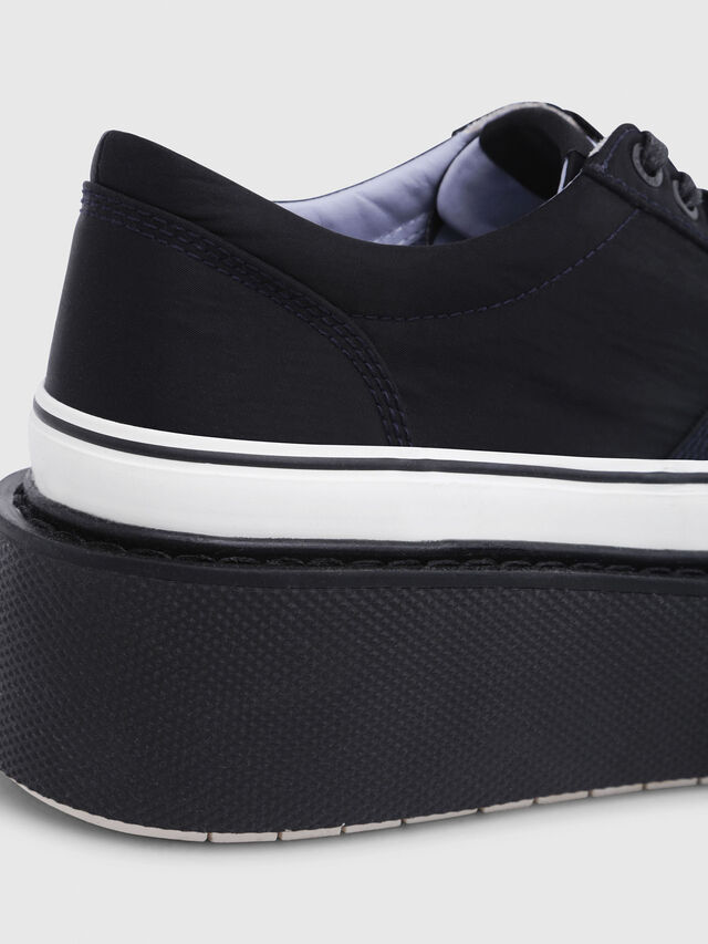 Diesel - H-SCIROCCO LOW, Noir - Baskets - Image 6
