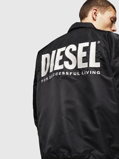Diesel - J-AKIO-A, Noir - Vestes - Image 2