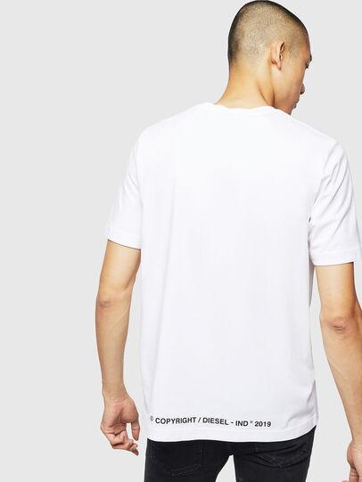 Diesel - T-JUST-B31, Blanc - T-Shirts - Image 2