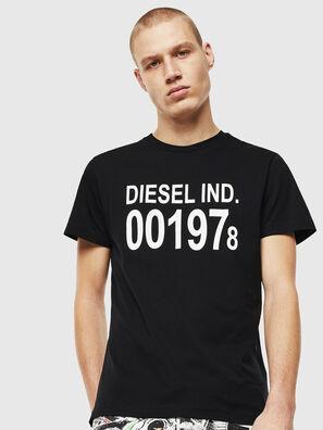 T-DIEGO-001978, Noir/Blanc - T-Shirts