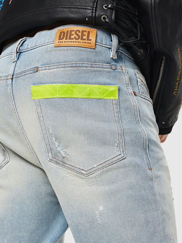 Diesel - D-Eetar 081AK, Bleu Clair - Jeans - Image 5