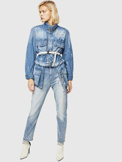 Diesel - D-Eiselle 084AA, Bleu Clair - Jeans - Image 6