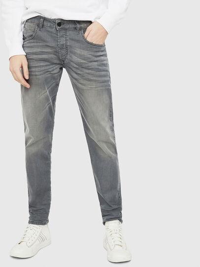 Diesel - D-Bazer 0699P, Jean Gris - Jeans - Image 1