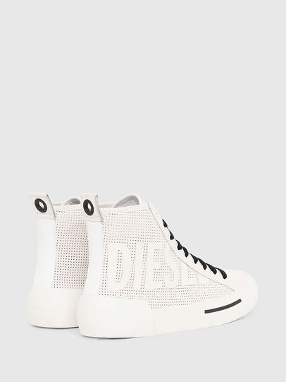 Diesel - S-DESE MID CUT W, Blanc - Baskets - Image 3