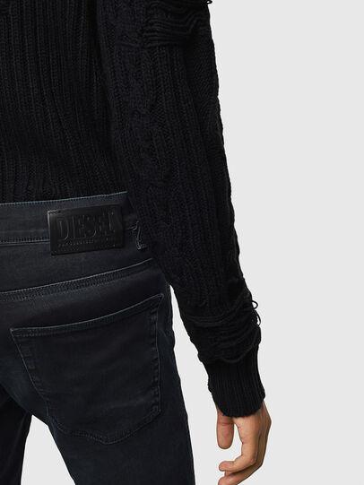 Diesel - D-Reeft JoggJeans 069KJ, Noir/Gris foncé - Jeans - Image 4