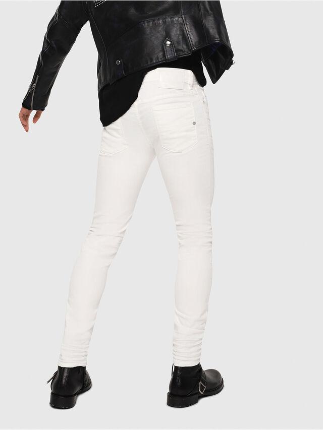 Diesel - Sleenker 084CY, Blanc - Jeans - Image 2