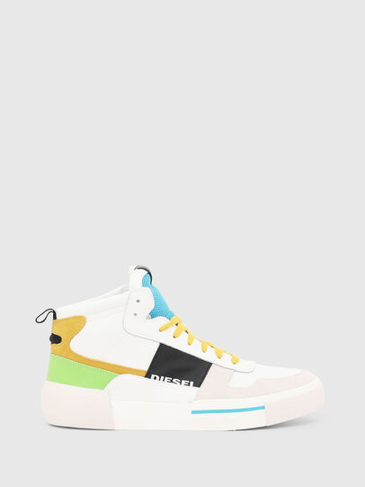 Diesel - S-DESE MG MID, Blanc - Baskets - Image 1