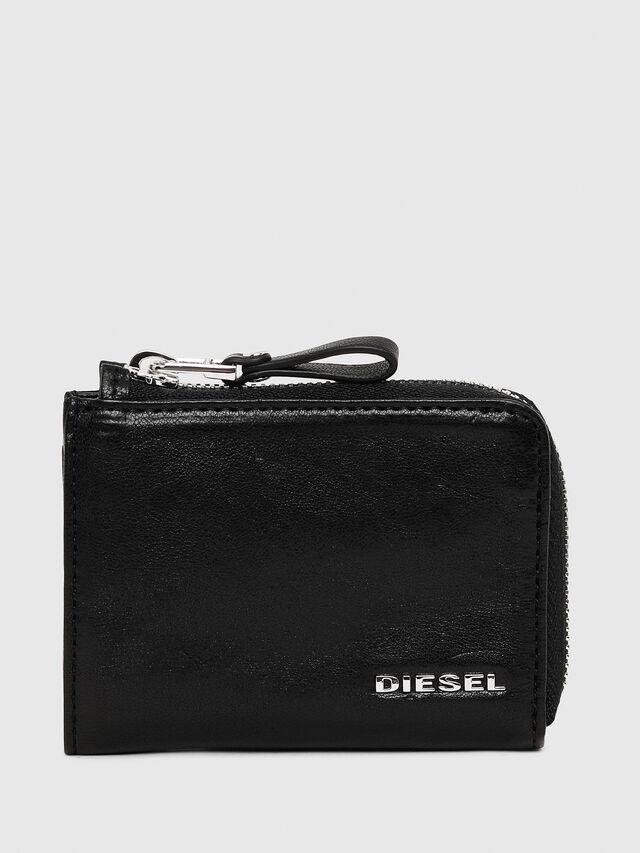 Diesel - L-PASSME, Cuir Noir - Petits Portefeuilles - Image 1