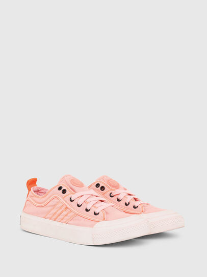 Diesel - S-ASTICO LOW LACE W, Rose - Baskets - Image 2