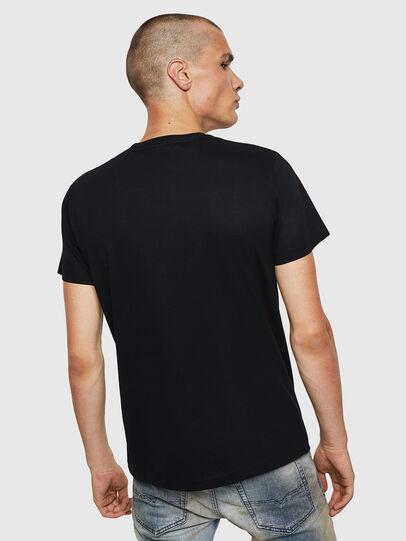 Diesel - T-DIEGO-BX1, Noir - T-Shirts - Image 2