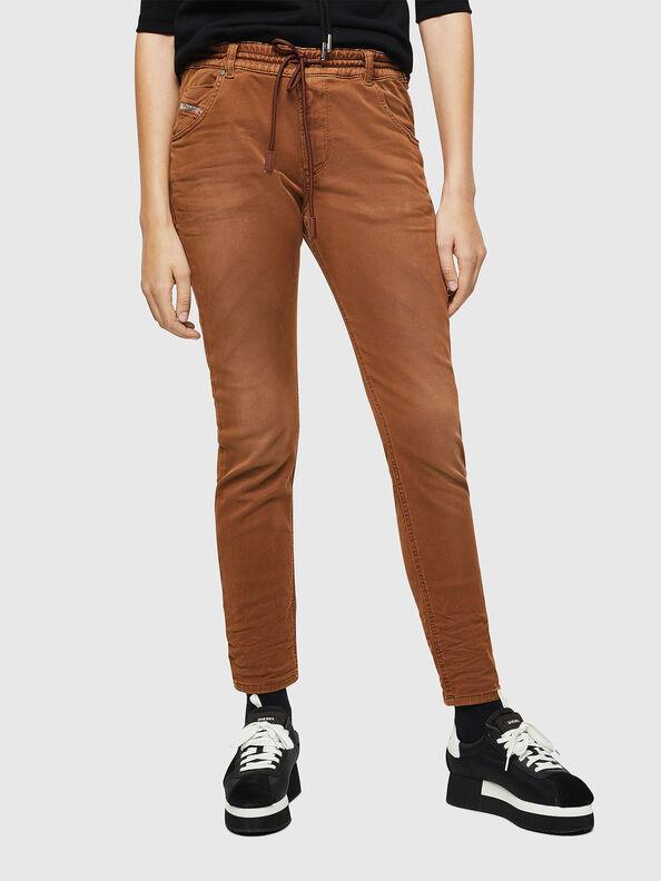 Krailey JoggJeans 0670M, Marron - Jeans
