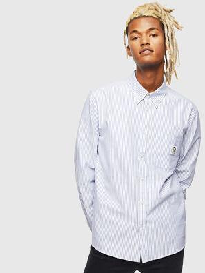 S-JAMES-A, Bleu/Blanc - Chemises