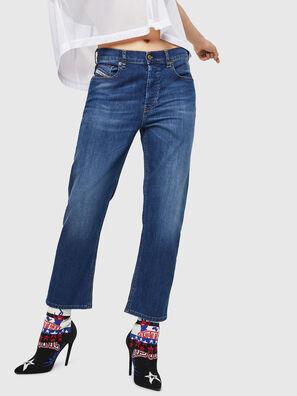 Aryel 082AZ, Bleu Foncé - Jeans