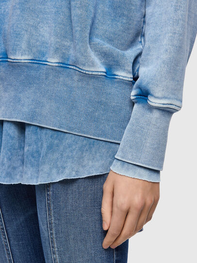 Diesel - F-ROXXY-B1, Bleu - Pull Cotton - Image 4
