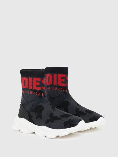 Diesel - S-SERENDIPITY SO MID, Noir/Rouge - Footwear - Image 2
