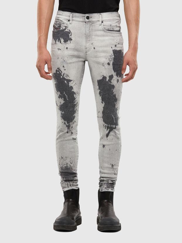 D-Amny 009GM, Gris Clair - Jeans