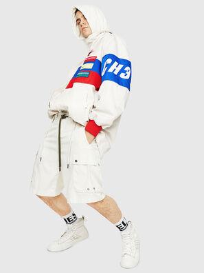 P-AIMI-P, Blanc - Shorts
