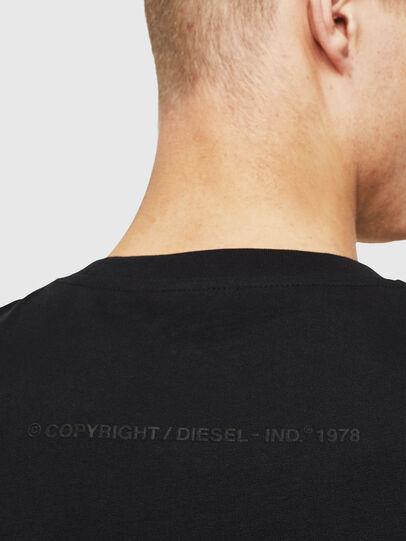 Diesel - T-JUST-T30, Noir - T-Shirts - Image 4