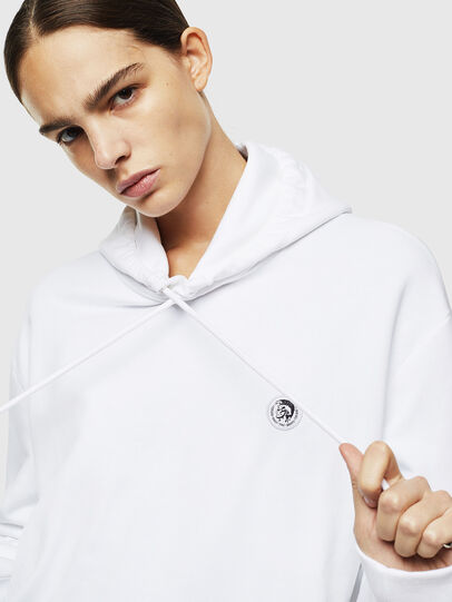 Diesel - S-AFTER, Blanc - Pull Cotton - Image 6