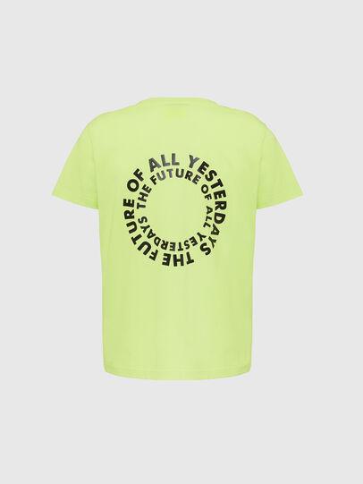 Diesel - T-DIEGOS-X46, Vert Fluo - T-Shirts - Image 2