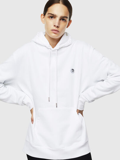 Diesel - S-AFTER, Blanc - Pull Cotton - Image 2