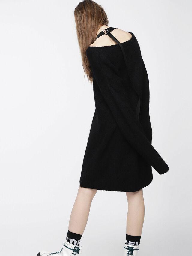 Diesel - M-SOFTY, Noir - Robes - Image 5
