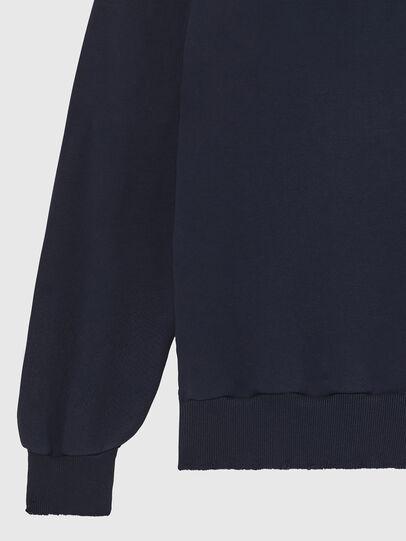 Diesel - S-GIR-HOOD-DIVISION-, Bleu Foncé - Pull Cotton - Image 4