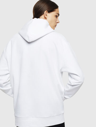 Diesel - S-AFTER, Blanc - Pull Cotton - Image 4