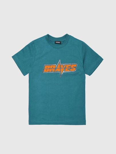 Diesel - TSILYWG, Vert d'Eau - T-shirts et Hauts - Image 1