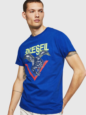 T-DIEGO-A4, Bleu Brillant - T-Shirts