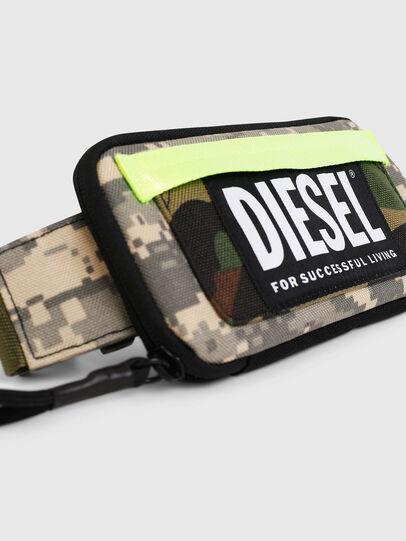 Diesel - BELT RUBBER CASE BIG, Vert Camouflage - Portefeuilles Continental - Image 5