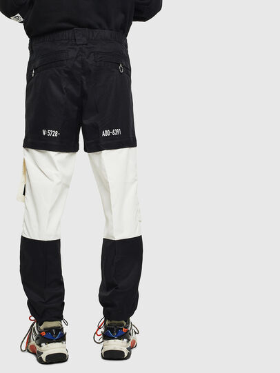Diesel - P-MELTY, Noir/Blanc - Pantalons - Image 2